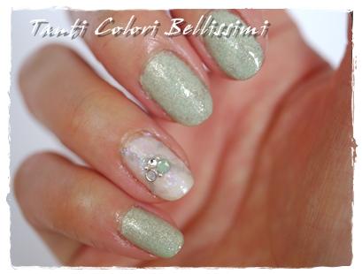 純銀キラキラネイル
