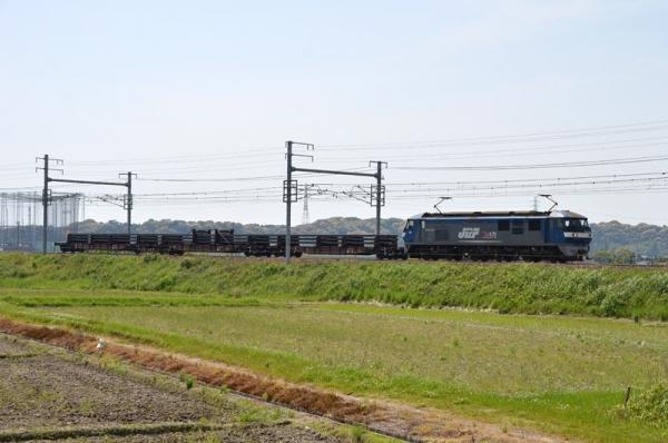 8862レ(EF210-155+九チキ 2014年5月4日)