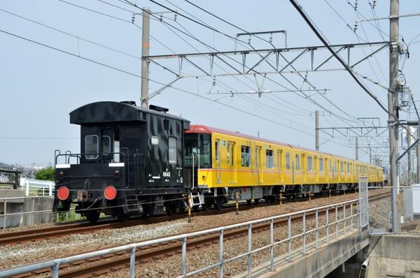 8862レ東京メトロ1000系甲種輸送