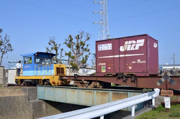 西浜松JT専用線(2014年3月19日)
