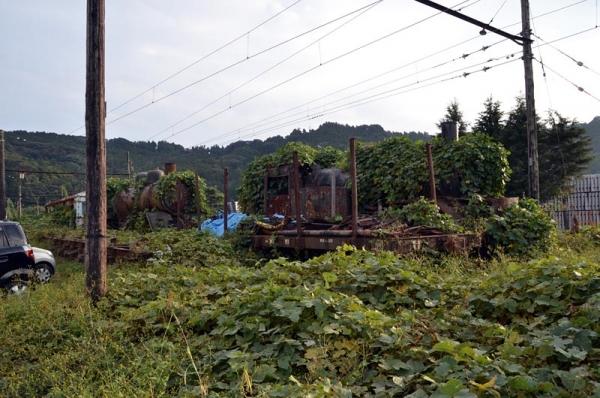 チキ303他@新金谷構外側線(2014年11月8日)