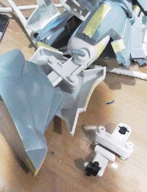 旧キットザクⅢ (4)
