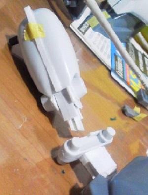 旧キットザクⅢ (11)
