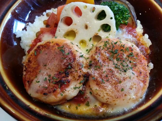 デニーズでの休日の中食 (2)