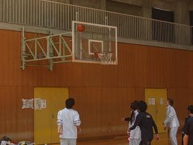 球技大会・バスケ1