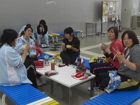 球技大会・お昼3