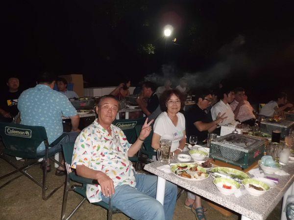 8家族納涼パーティー11
