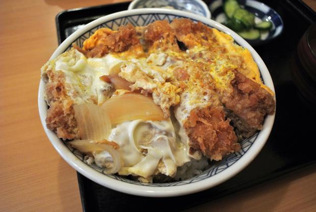 かつ丼定食(650円) 2