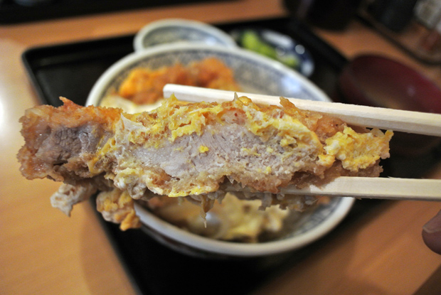 かつ丼定食(650円) 3