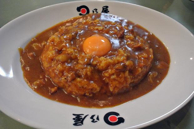 日乃屋カレー(生玉子) 1
