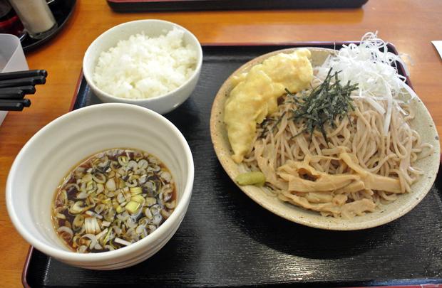 麺屋 一里@芳賀町下高根沢 和風冷やしつけ麺1