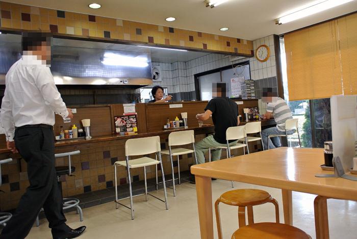G麺烈伝 地雷屋@上三川町 店内