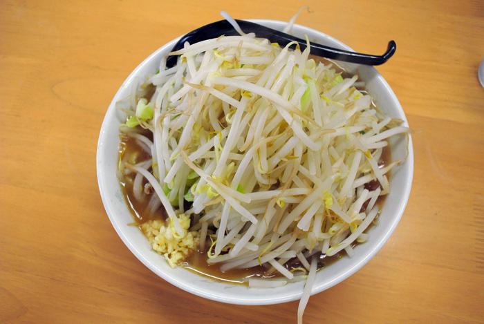 G麺烈伝 地雷屋@上三川町 ライトイチロー1