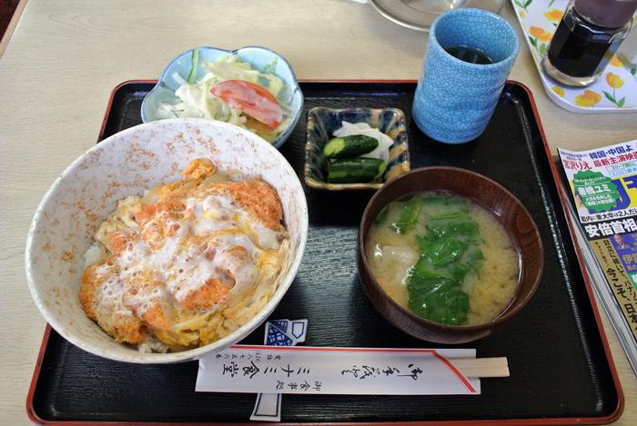 ミナミ食堂@宇都宮市吉野 カツ丼1