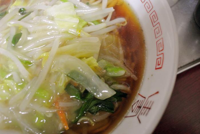 慶安楼@宇都宮市西 生芽麺2