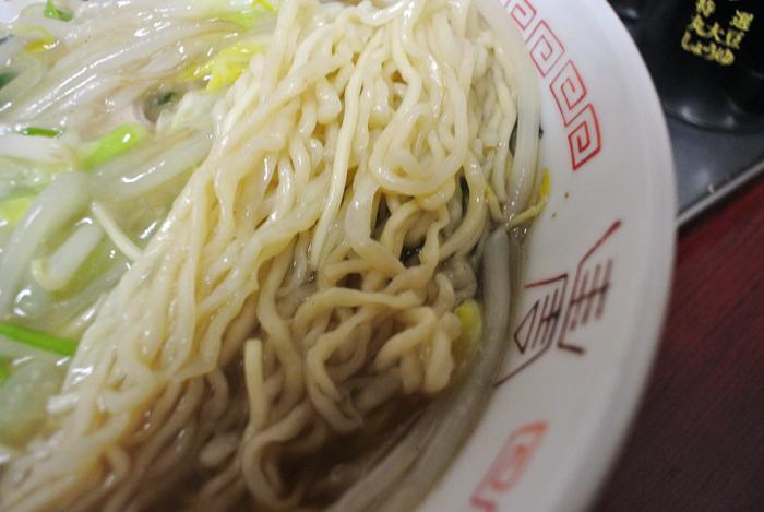 慶安楼@宇都宮市西 生芽麺3