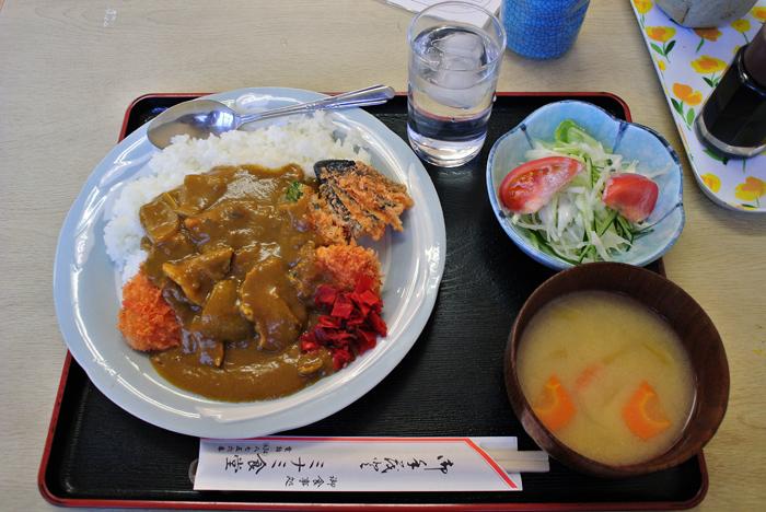 ミナミ食堂 2@宇都宮市吉野 カツカレー1