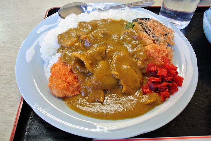 ミナミ食堂 2@宇都宮市吉野 カツカレー2