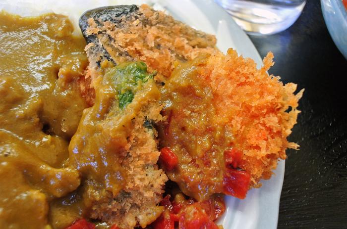 ミナミ食堂 2@宇都宮市吉野 カツカレー3