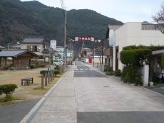 下田温泉の通り