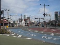 若戸大橋への入口