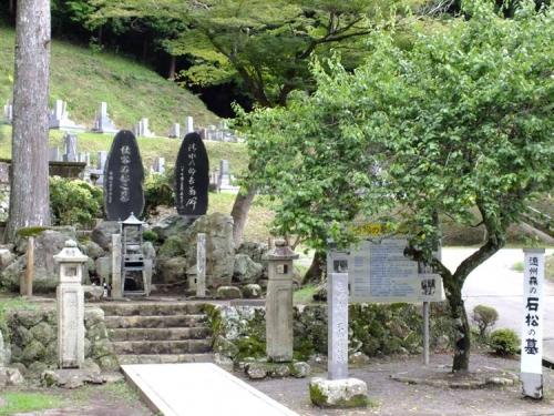 遠州森の石松の墓と清水の次郎長の墓へ行きデジカメ写真撮影した
