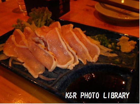 11月24日庭先地鶏のたたき