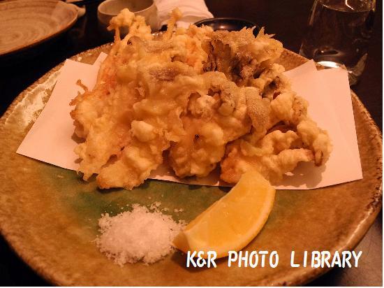 12月21日キノコの天ぷら盛り合わせ