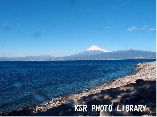12月29日大川下からの富士山