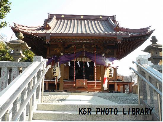 2014年鹿島大神拝殿