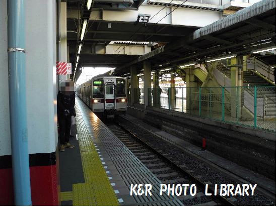 1月13日東武伊勢崎線(館林行)