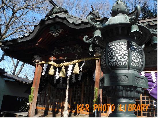 1月13日星宮神社社殿