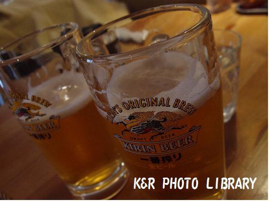 1月13日生ビール