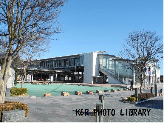1月13日JR佐野駅