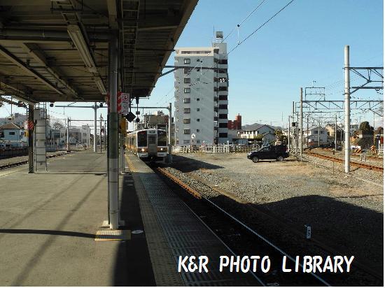 1月13日両毛線下り列車