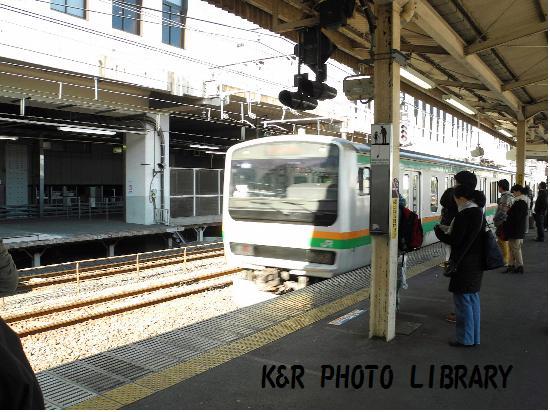 1月13日湘南新宿ライン逗子行