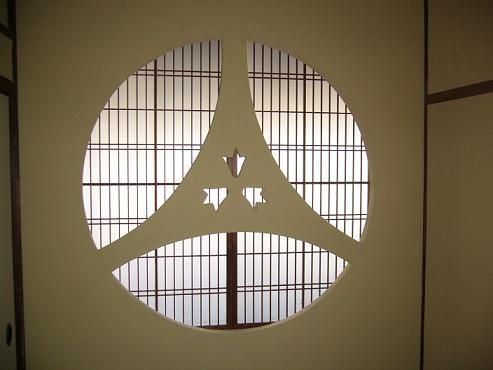 2階和室の下地窓