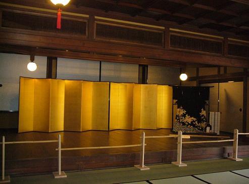 2階大広間舞台