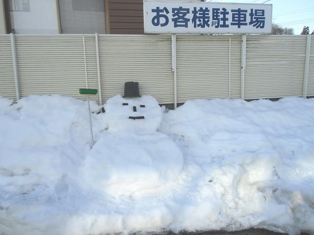 雪だるま1069