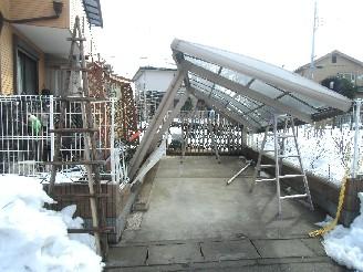 雪被害 1
