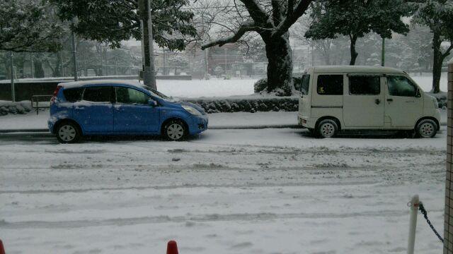 船橋大雪1