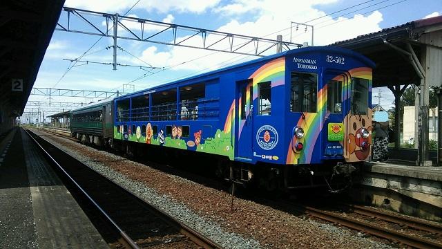 140821 アンパンマントロッコ列車① ブログ用目隠し