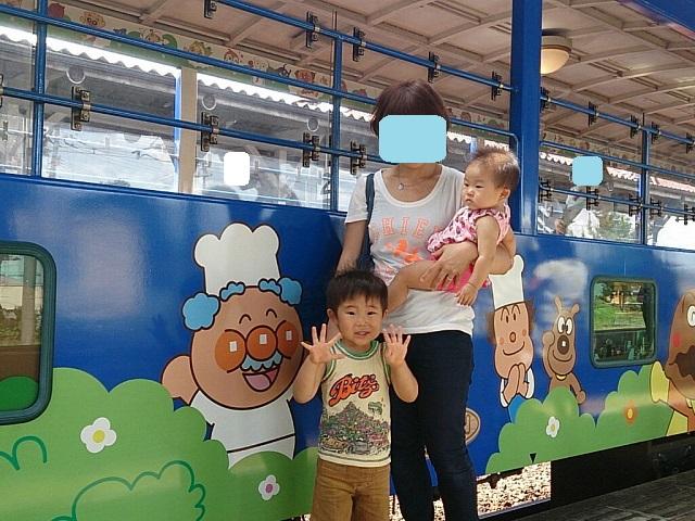 140821 アンパンマントロッコ列車⑧ ブログ用目隠し
