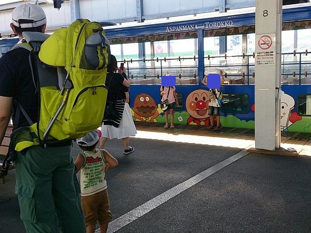 140821 アンパンマントロッコ列車⑨ ブログ用目隠し