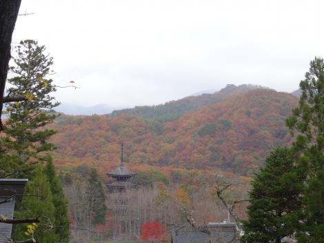 定義山 五重の塔