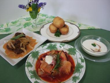 縮 ロシア料理