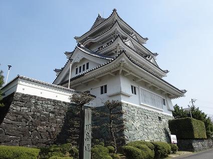 川島城03