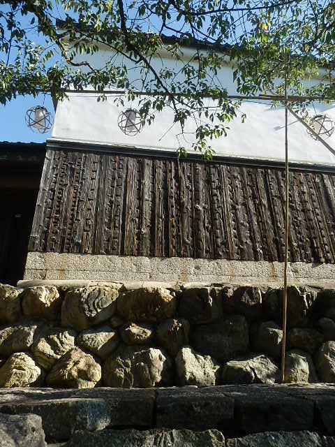 八幡堀沿いの屋敷