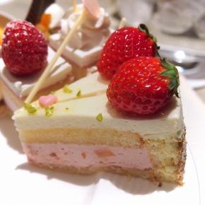 イチゴとレモンのムース02@THE WESTIN TOKYO THE TERRACE 2014年02月