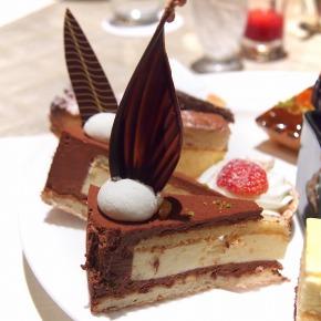 オレンジとビターチョコレートのムース02@THE WESTIN TOKYO THE TERRACE 2014年02月
